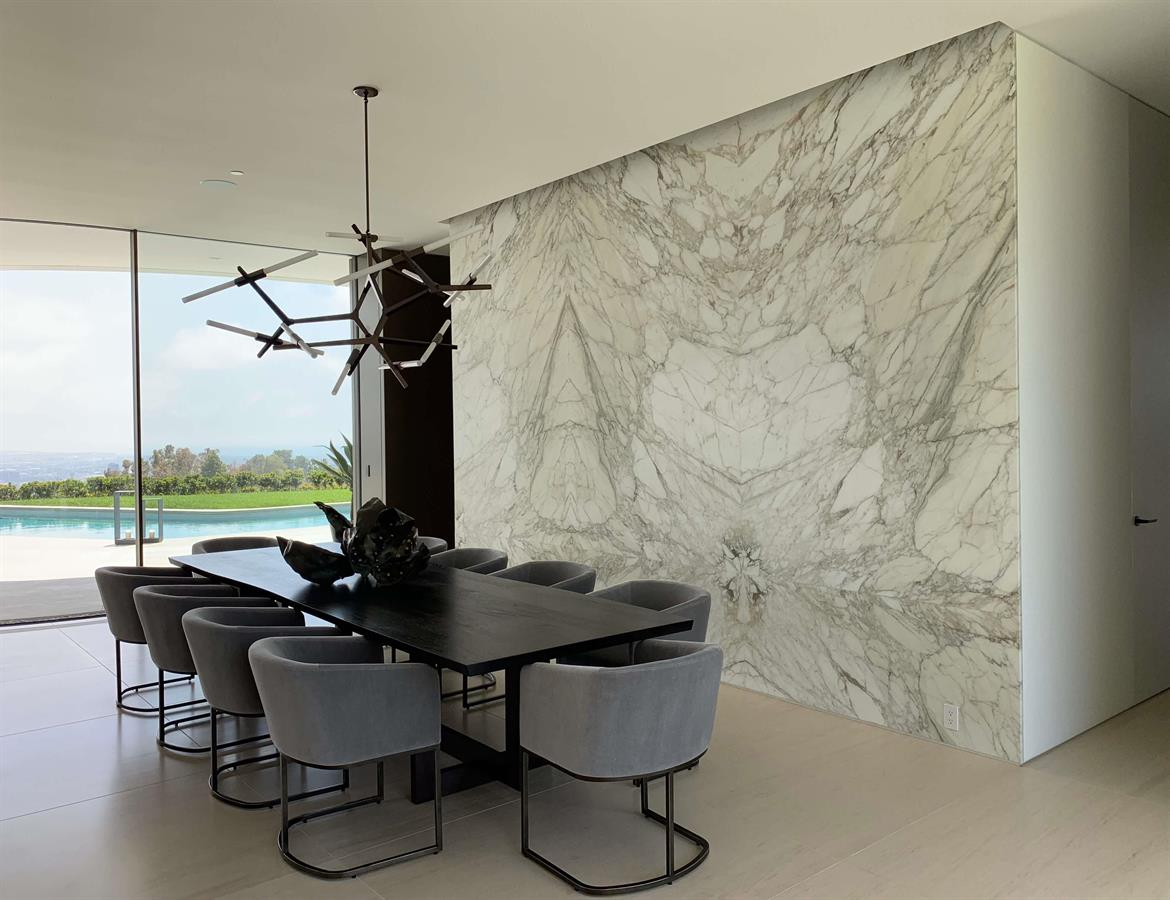 Calacatta Marble Polished Slab